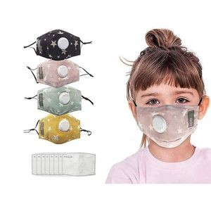 Children's Cotton Mask with Filter Sheet